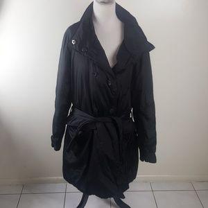 Black Calvin Klein XL Winter Coat